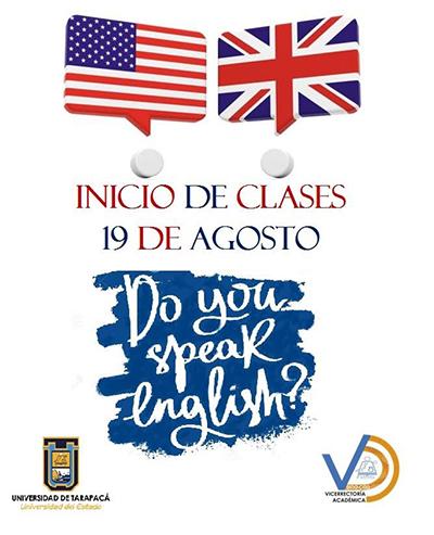 afiche curso ingles 2ºsemes
