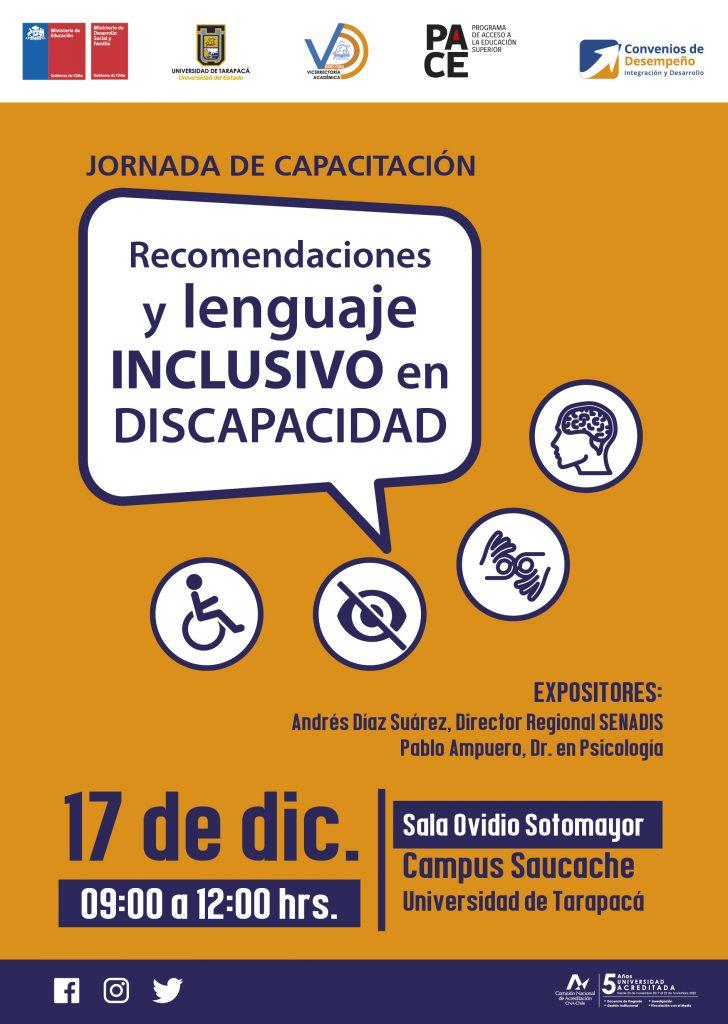Foto Noticia Afiche Jornada de capacitación