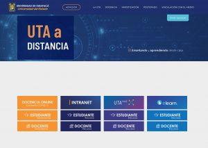 Foto Noticia  Web Uta a distancia