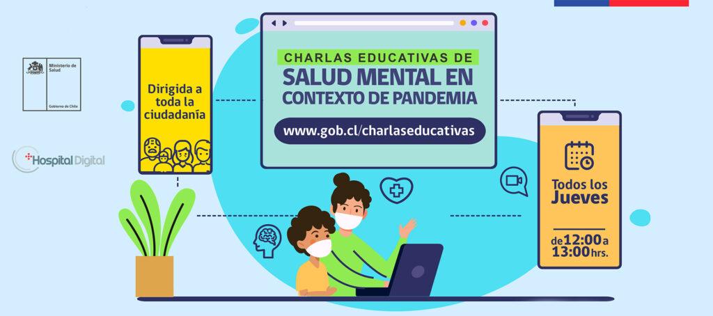 Acceso a las charlas educativas de Salud Mental del Ministerio de Salud